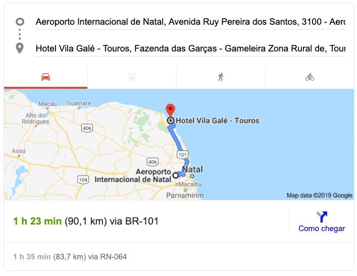 Aeroporto_de_natal_para_vila_galé_touros