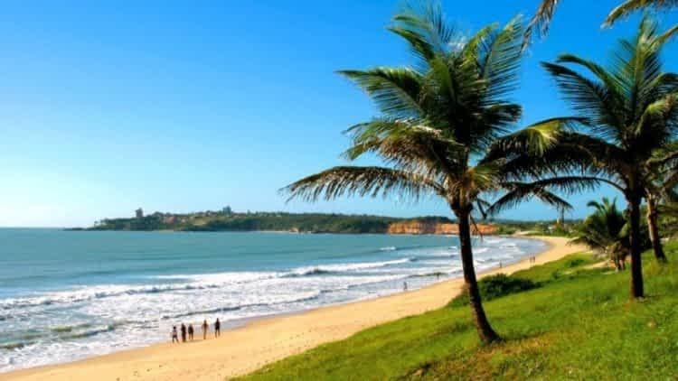 Praia do Cotovelo, litoral Sul